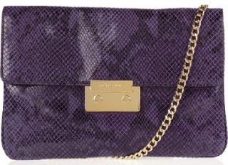 Michael Michael Kors Sloan Clutch Purple Shoes