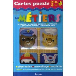CARTES PUZZLE ; LES METIERS   Achat / Vente livre pas cher