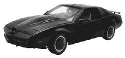 1983 Knight Rider KITT diecast model car 118 scale die