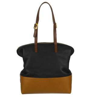 Fendi Borsa Leather Colorblock Shopper Bag