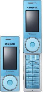 Samsung X830 Blue Unlocked Tri band Cell Phone