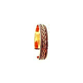 Braid Design Copper 1/4 Inch Thick Bracelet Everything