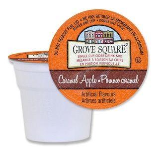 Grove Square Caramel Hot Apple Cider Single Serve k Cups for Keurig