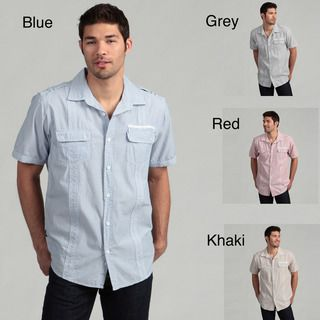 Royal Premium Mens Stripe Woven Shirt