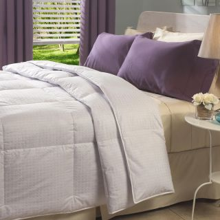 Oversized 305 Thread Count Full/ Queen size White Down Comforter