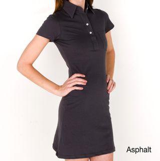 American Apparel Womens Fine Jersey Leisure Dress