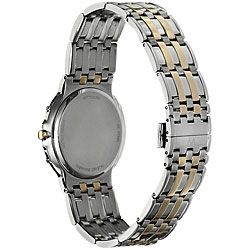 Wittnauer Mens Warwick Two tone Stainless Steel Watch