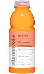 Vitamin Water, Endurance Peach Mango, 20 Oz. / 24 PK