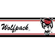 NC State 5.5 Inch (Height) Wallpaper Border Sports