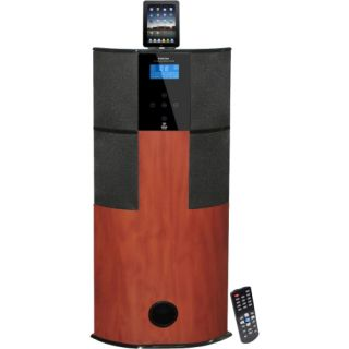 PyleHome PHST94IPCW 2.1 Home Theater System   600 W RMS   Cherry Wood