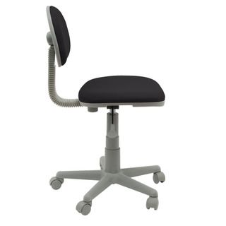 Studio Designs Black/Gray Deluxe Task Chair