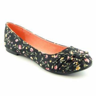 Rocket Dog Memories TS Black Womens Ballet Flat Shoes Size 8