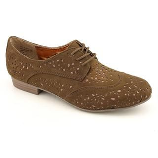 Not Rated Womens Fascination Faux Suede Dress Shoes