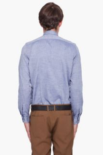 Paul Smith  Blue Chambray Shirt for men