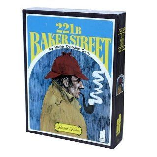 221B Baker Street   The Master Detective Game (14 years