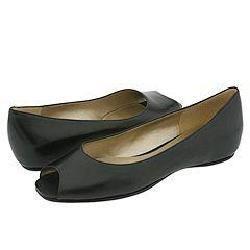 Bandolino Thora Black Leather Slip on Shoe