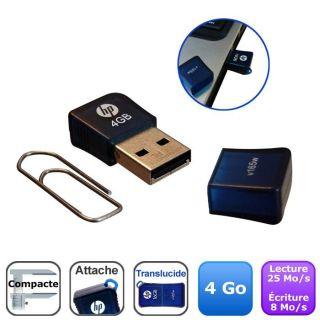 HP v165w USB Flash Drive 4 Go   Achat / Vente CLE USB HP v165w USB