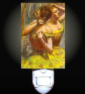 Two Dancers by Degas Decorative Night Light