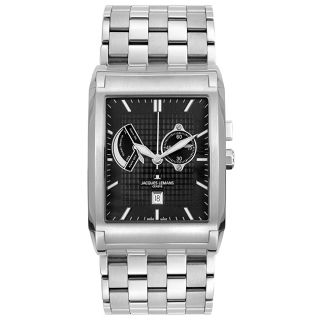Jacques Lemans Mens Geneva Steel Watch