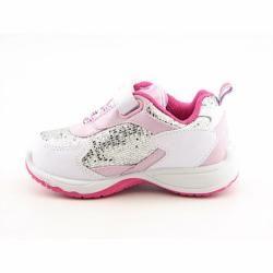 Disney Princess Infant Toddler White/Silver Walking Shoes