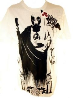Green Day Mens T Shirt   Gas Mask Guy The Class of 13