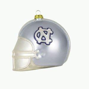 North Carolina Tar Heels NCAA Glass Football Helmet
