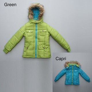 KC Collections Big Girls Hooded Parka FINAL SALE