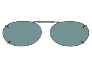 Cocoons Clip On Sunglasses Style Oval 2 48; Color Gray