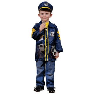 Dress Up America Kids Police Officer Role Play Dress Up Set