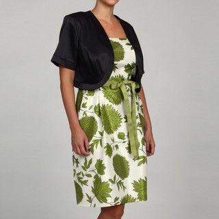 Jessica Howard Womens Plus Size Black Elbow length Sleeve Sweater