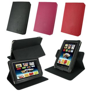 rooCASE Dual View Leather Folio Case Cover for Nook Color/ Tablet