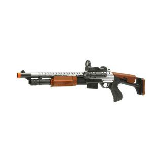 Spring Tactical M515 Pump Action Airsoft Shotgun