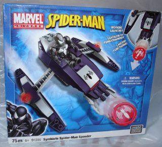 Symbiote Spider Man Speeder 91286 Mega Bloks Toys & Games