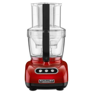 KitchenAid KFPM773CA Candy Apple Red 12 cup Wide Mouth Food Processor