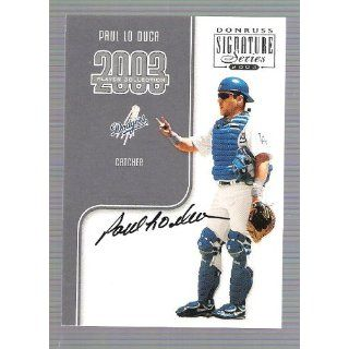 Signature Series   Paul Lo Duca   Authentic Signature Card   # 20/227