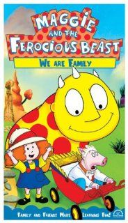Maggie and the Ferocious Beast   We Are Family [VHS] John