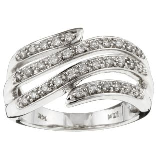 14k White Gold 1/3ct TDW Diamond Fashion Ring