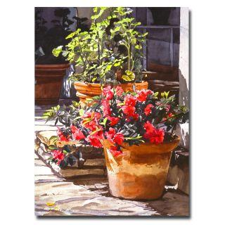 David Lloyd Glover Blossom Niche Canvas Art