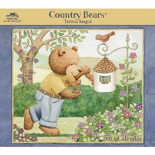 (12x14) Teresa Kogut   Country Bears   2013 Wall Calendar