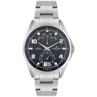 Jacques Lemans Mens Geneve Stainless Steel Watch