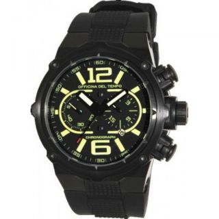Officina Del Tempo Power Chronograph Yellow Watch