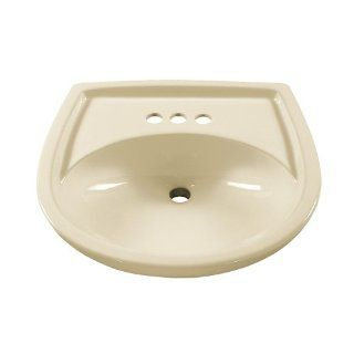 American Standard 0115.404.222 Colony 21 Inch Pedestal Sink Basin with