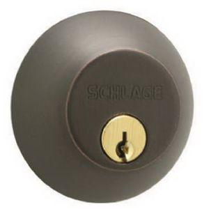 Schlage B360V716 Bronze Single Cylinder Deadbolt