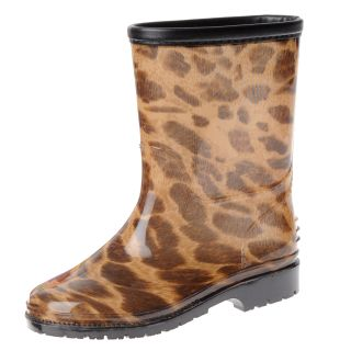 Henry Ferrera Girls Leopard Rubber Rain Boots Today $33.49 5.0 (1