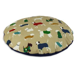 Doggy Day Jewel 36 inch Round Pet Bed