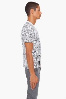 Comme Des Garçons Play  Cotton Jersey Print T shirt for men