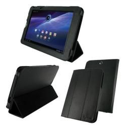 rooCASE Toshiba Thrive TriStand Leather Case