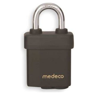 Medeco 54T5150006XX Padlock.High Security, Keyed Different