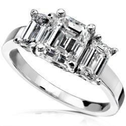 14k Gold 2 1/2 ct TDW Diamond Engagement Ring (I J, VS1)