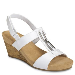A2 by Aerosoles Womens Lightbulb Wedge Sandals